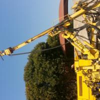 Roc 442 drill rig with Atlas copco compressor