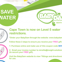 BabyDam - Bathwater Barrier - Receive your amazaing FREE gift with your unique coupon code MIREILLE