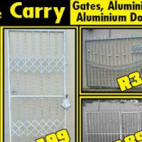 Manufacturers and installation of Burglar Guards, Burglar bars, Aluminum Windows  and doors, Carport