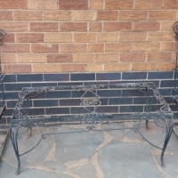 Garden Iron Chairs for sale