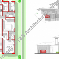 DOUBLE STORY PROPOSAL HOUSE PLAN, DRAUGHTING AND DESIGN ON A BUDGET