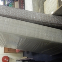 Seally Double Bed Matrass and Base
