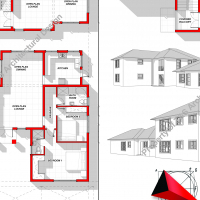 DRAUGHTING SERVICES FOR NEW HOUSE PLAN DESIGN, COMPLEXES / FLATS
