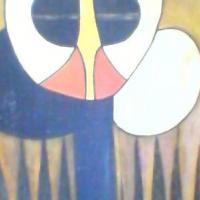 ADAGGI artwork Oil on Woodcarving