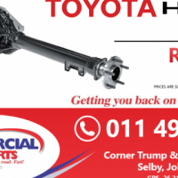 Toyota Hiace Diff New