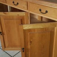 Pure Oak Cabinet