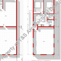 SCHOOL & FLAT DESIGN COMBINATION, DRAUGHTING SERVICES, HOUSE PLAN