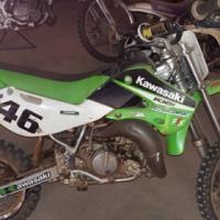 Kawasaki 65 cc en 85 cc