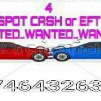 Wanted!!!  Cars and bakkies