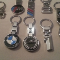 various bmw keyrings for sale