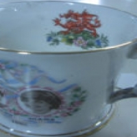 Charles & Diana wedding anniversay mug