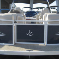2017 JC TriToon 245 Spirit 150 Suzuki Entertaining Fun Pontoon