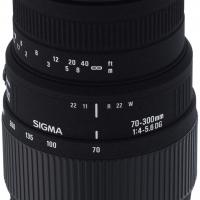 Sigma DG 70-300mm F4-5.6 Macro Canon Lens