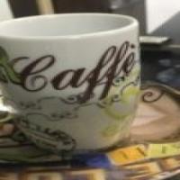 3x espresso cup set