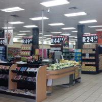 Franchised supermarket and bottlestore