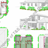 DEVELOPMENT OF PROPERTY, HOUSE PLAN DESIGN, PROPOSAL DESIGNS, DRAUGHTING SERVICES