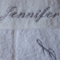 Exclusively Embroidered Towels and Bath Robes
