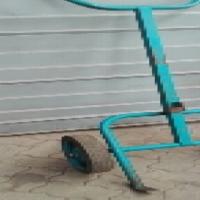 Industrial drum trolley