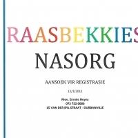Raasbekkies Nasorg sien die verskil in jou kind se toekoms.
