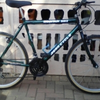 Green Mountain bike