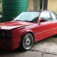 convrtible bmw with 327is motor