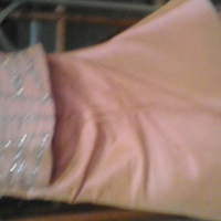 lilac dress with beading