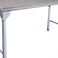 S/ Steel Table - Splash Back Table - 1700mm