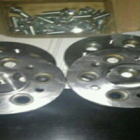Wheel Adapters / Spacers with Wheel nuts