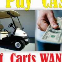 WANTED ! ! all Golf Carts