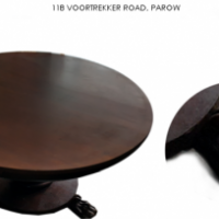 Mahogany Victorian Round Table For Sale at Springbok Furnishers.