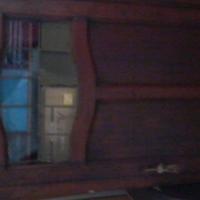Antique upright storage cabinet R1000 (neg).