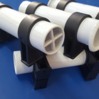 ROD HOLDER WHITE PLASTIC WITH PLASTIC CLAMPS R199.00 EACH