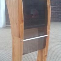Wood, Perspex Podiums