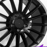 "18"" SSQ A45 Matt Black 5/112 Alloy Wheels"