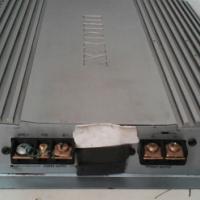 A car bronx mono block and a home omega amplifier.