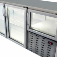 2.5 Glass Door Underbar Fridge (1800x750x900mm)