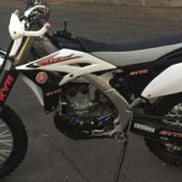 Yamaha YZ250F enduro ready