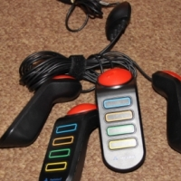 PS3 Buzz TV Quiz with 4 wired buzzers