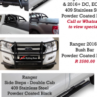 SPRING MADNESS Specials Bush Bars, Nudge Bar, Side Steps, Rollbars, Covers & Towbars