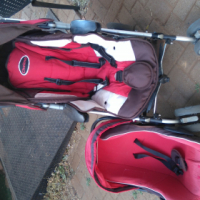Chelino C3 pram and baby car seat for sale urgent