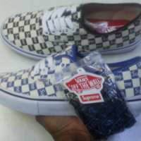 Supreme Vans Limited Edition Sneakers