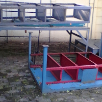 Steel tables-various sizes