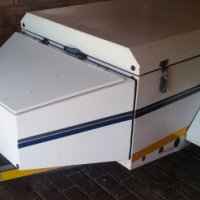 Jurgens 5Ft Trailer with N/Cone