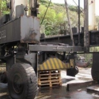 Noell 35 Ton Straddle Carrier