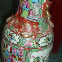 Large oriental vase