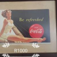 Coca cola painting