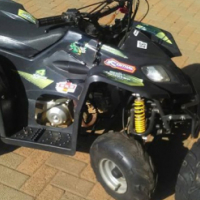 110cc Big Boy Johnway Quad Bike