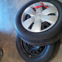 2 Toyota Yaris spare wheels(rims and tyres)