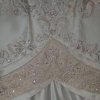 Petty coat wedding dress