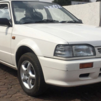 2003 Mazda Etude 1.3,looks like new for such a old car,Drives like a dream